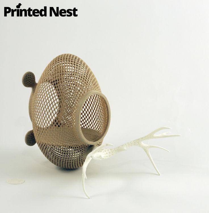 Experimental 3D printed product, it is under development in BETA version 4.0.  www.printednest.com