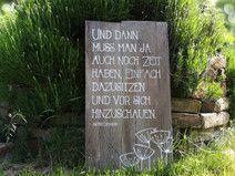 Gartendekoholz Sprüche DEKOSCHILD XL   – dekorationen