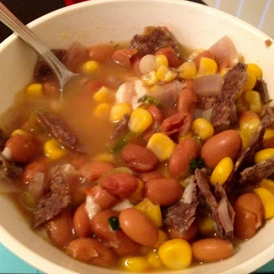 ... Grandma G made on Pinterest | Enchilada soup, Pinto beans and Black