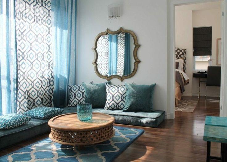 marocain bleu deco marocain couleurs correspondants deuxime etage oriental dco ide chambre chambre fille bleue plus moderne dco - Chambre Orientale Bleue