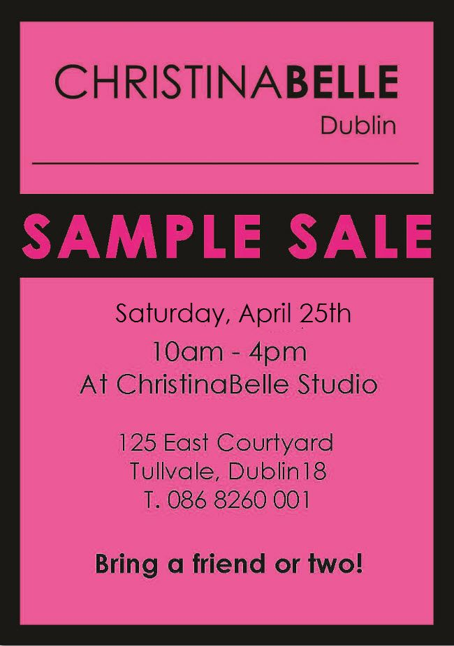 April 25th! ChristinaBelle Studio!