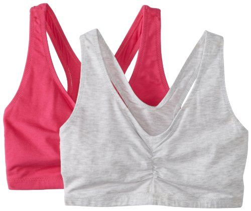 Hanes Women's 2 Pack Cotton Pullover Bra | New top sports bra ...