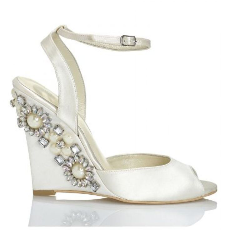 Wedding Shoes With Pearls On Pinterest Bridal Shoes Ivory Bridal