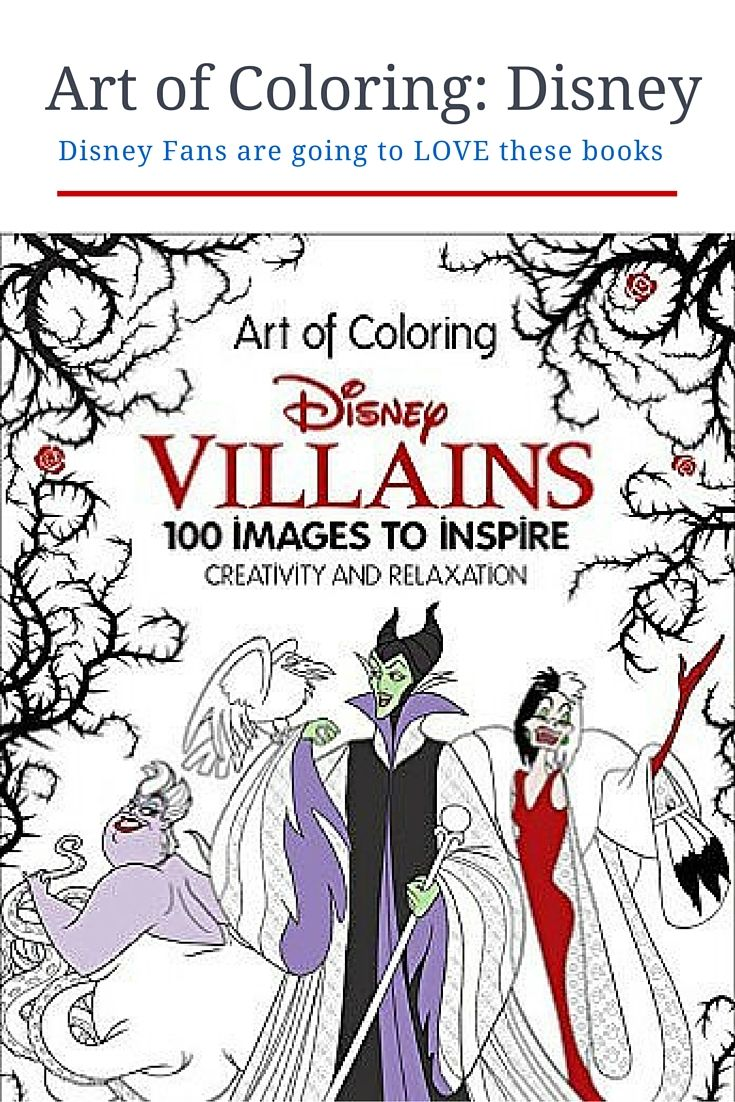 Disney Themed Coloring Books