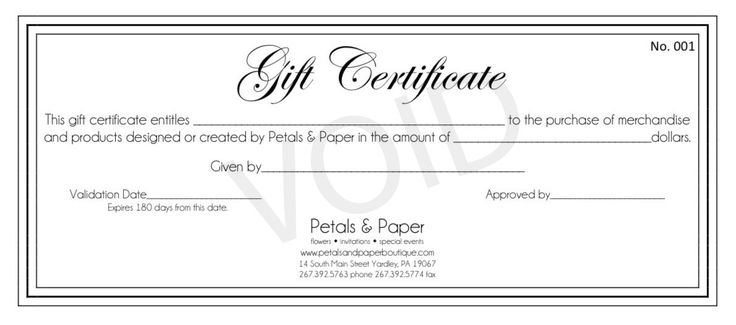 free printable gift certificate templates Gift Certificates Make - gift voucher templates free printable