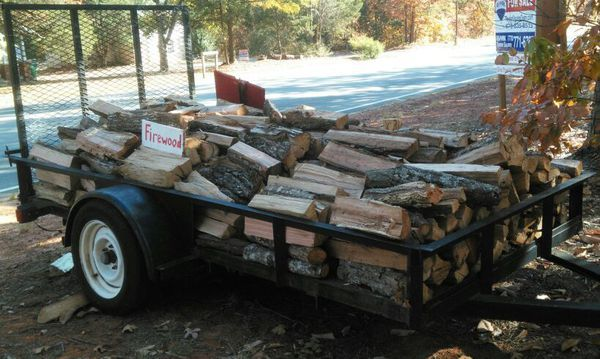 Firewood for sale > trailer load @ $125/truck load @ $100 in Winder, GA (sells for $125)