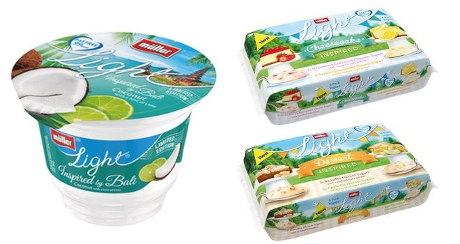 Müllerlight celebrates spring 2014 with new low-calorie products