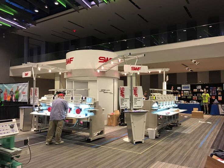 Come and see our NEW SWF EMBROIDERY MACHINES! www.swfemb.com