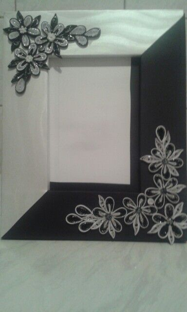 Black and white by quilling catalina