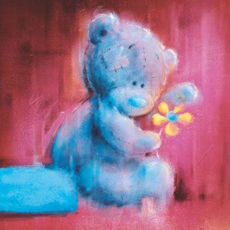 Tatty Teddy Holding Daisy Me to You Bear Card