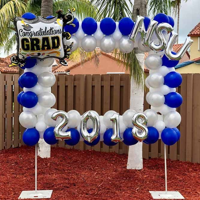 39 Creative Graduation Party Decoration Ideas For More Fun High School Graduation Party Decorations Graduation Party Planning Graduation Party Decor