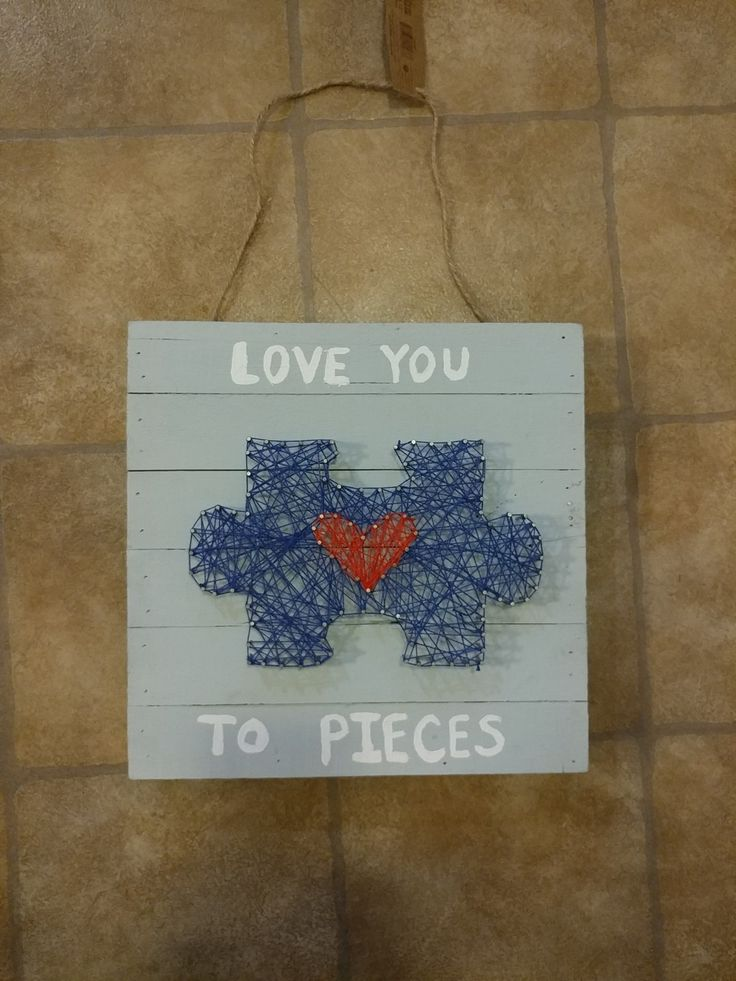 #stringart #asd #puzzle #puzzlepiece #autism #craft #easy