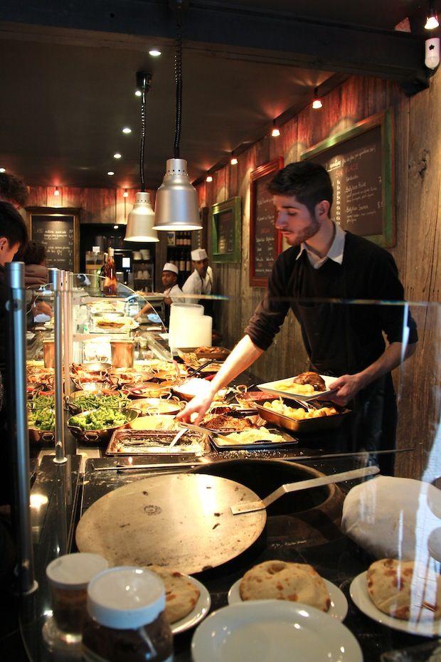 Restaurant Bolly Nan-6 Bollynan, 12 rue des Petits Carreaux, 75 002 Paris  Tél : 01 45 08 40 51, fermé le dimanche