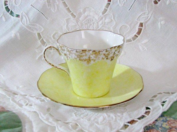 Elizabethan Fine Bone China Cup and Saucer - Vintage Items for Sale - The Vintage Village