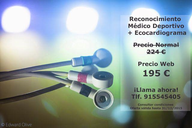 http://rehabilitacionavanzada.blogspot.com.es/2015/05/reconocimiento-medico-deportivo.html Reconocimiento Médico Deportivo + Ecocardiograma en Madrid