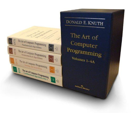 The Art of Computer Programming, Volumes 1-4A Boxed Set: 9780321751041: Computer Science Books @ Amazon.com
