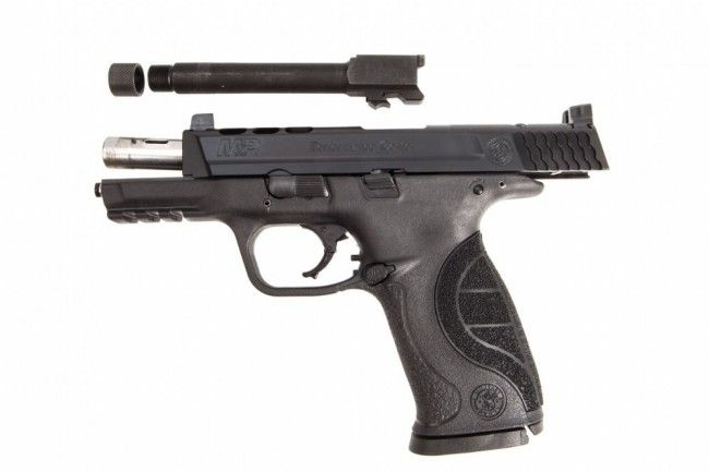 Smith & Wesson M&P 9 Performance Center Ported  9mm Pistol Kit W/ Threaded Barrel, 10267, by Smith & Wesson, .