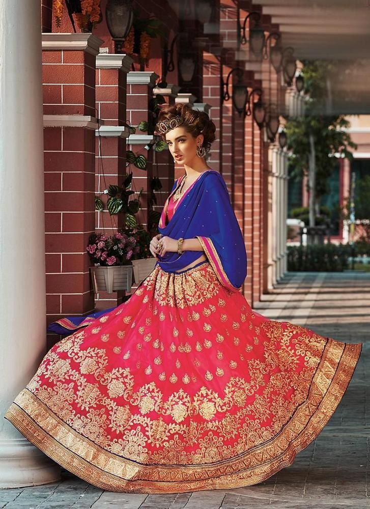Bridal Indian Ethnic Bollywood wear Lehenga Choli Pakistani Wedding Traditional #TanishiFashion