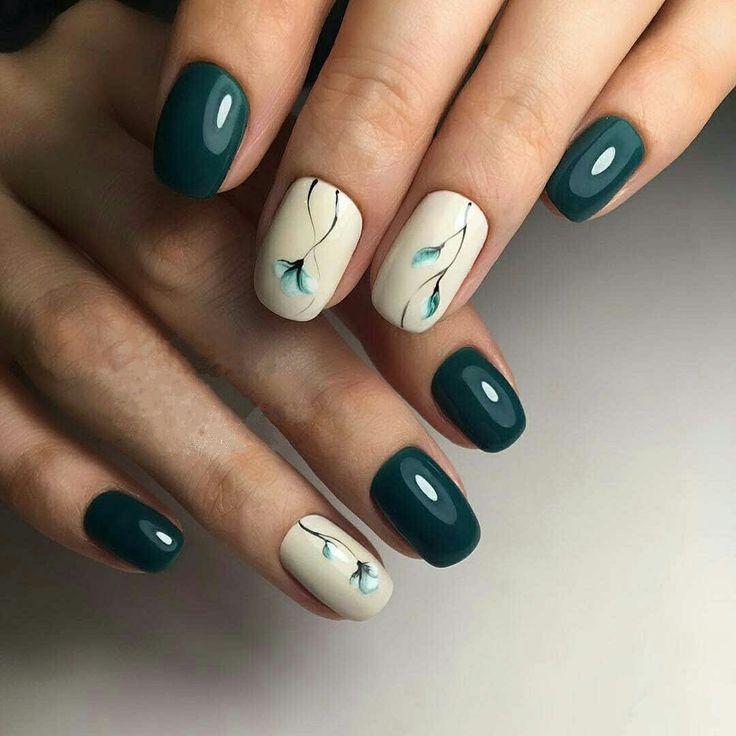 Techniken für Spring Nail Art – Nageldesign für kurze Nägel