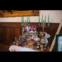 павлинья свадьба, сладкий стол