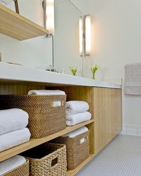 Contemporary Bathroom Mix - contemporary - bathroom - boston - ZeroEnergy Design