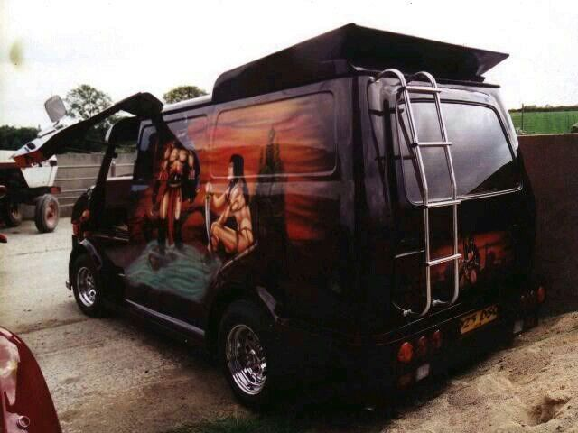 10 best bedford images on pinterest custom vans bedford. Black Bedroom Furniture Sets. Home Design Ideas