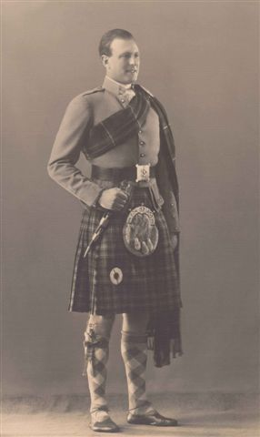 James Angus Graham, 7th Duke of Montrose  (1907 – 1992), styled Earl of Kincardine until 1925 & Marquess of Graham 1925 - 1954, was a British-born Rhodesian politician. Born in Scotland, he maintained a lifelong interest in politics & was a lover of all things Scottish. As Marquess of Graham, the Duke was educated at Eton & Christ Church, Oxford. Always a keen Gaelic speaker with a great fondness for the Highlands & Islands of Scotland, he lies buried in the family cemetery near Loch Lomond