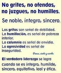 Resultado de imagen de ser humilde no significa que te dejes humillar