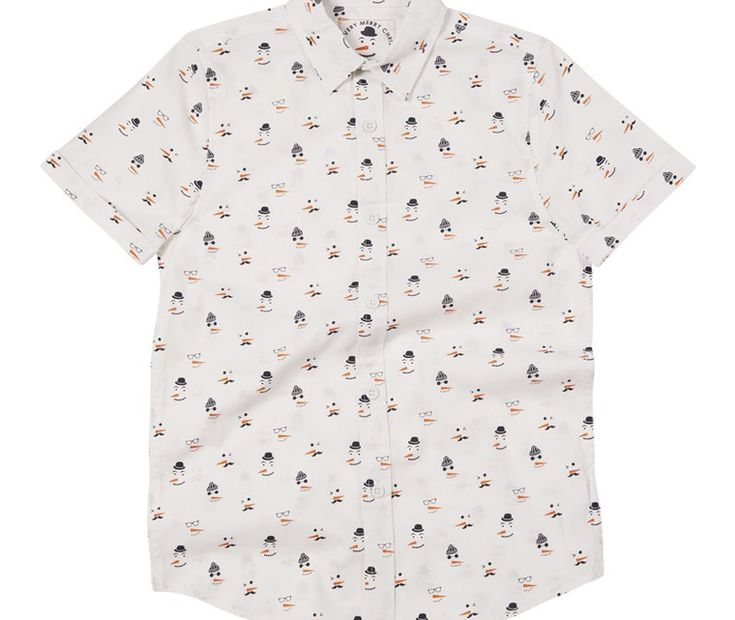 An Attractive Christmas Snowman Shirt For Primark Sweet And Cute Kids - Primark Online Shop