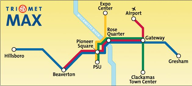 Instead of having to drive and find/pay for parking in downtown Portland! Plus I'm dying to check it out anyway!