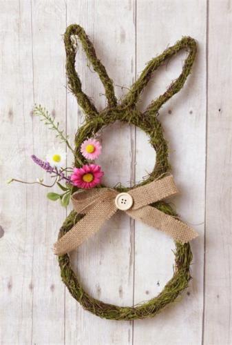 Primitive-Country-Rustic-Natural-Twig-Decorative-Door-Wall-Easter-Bunny