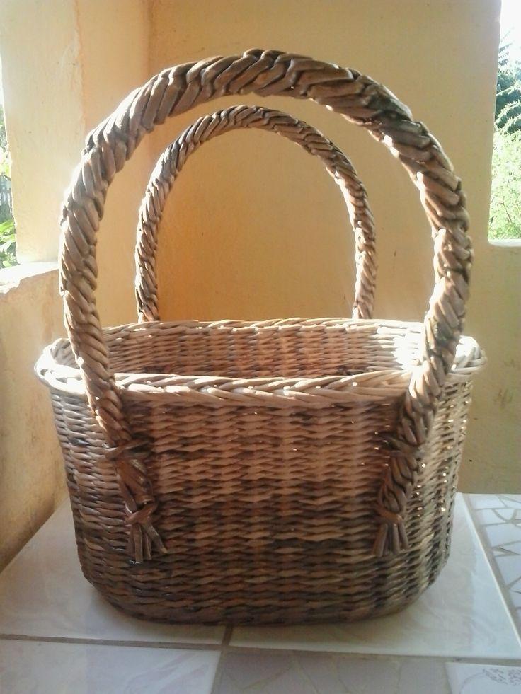 Очередная сумка-корзина