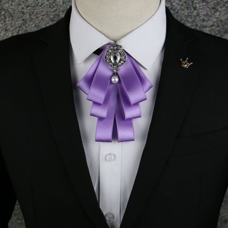 >> Click to Buy << New male woman purple collar collar tie common occupation Korean airline stewardess shirt bow Business Bank Hotel free shipping #Affiliate
