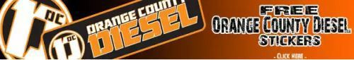 OC Diesel Free Orange County Diesel Stickers – US