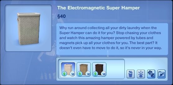 Super Hampers -- Automatic Laundry Pick Up (Plus Bigger Hampers) by Nona Mena