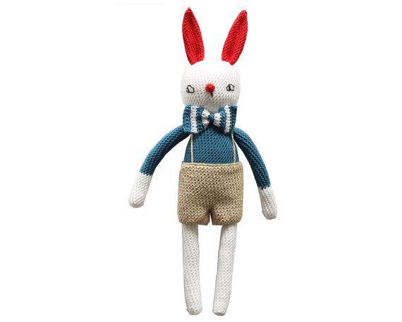 """Crochet bunny pattern """"Felix"""""""