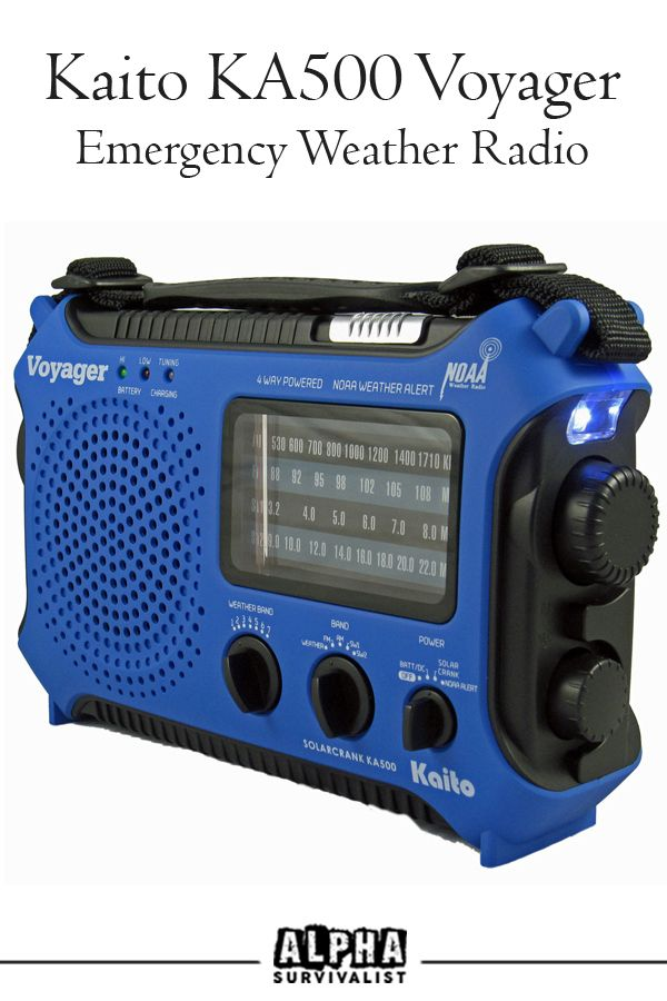 Is the Kaito KA500 Voyager the best all-round emergency