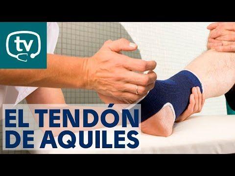 Tendinitis aquílea o del tendón de Aquiles - Tratamiento con ejercicios, estiramientos y masajes - YouTube
