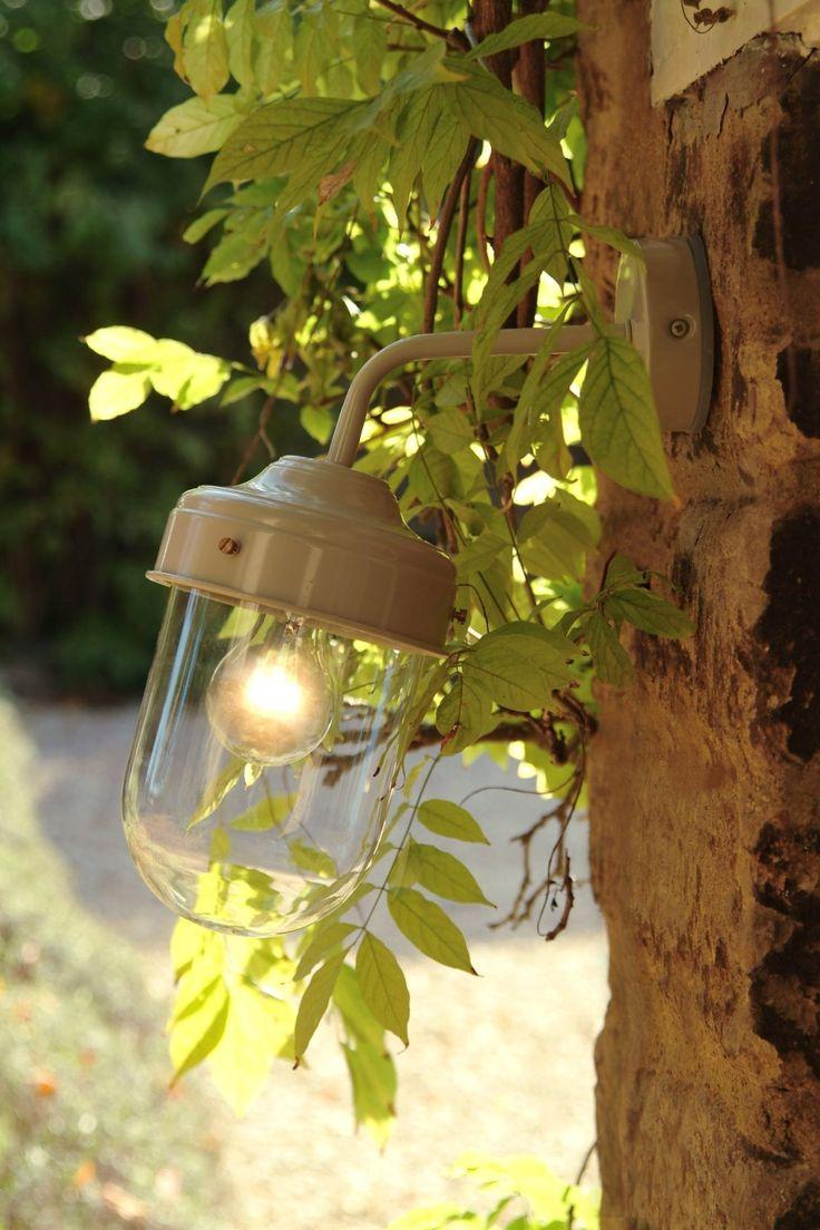 Garden Trading Grande lampe d'extérieure/pour hangar Couleur terre glaise: Amazon.fr: Luminaires et Eclairage