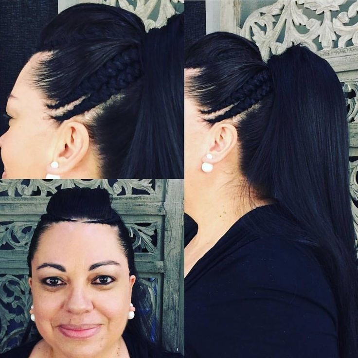 Sandra's hair special! We also specialize in ethnic hair at Midori.