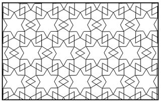 Simple Geometric Designs to Color | Maths takes Shape - Islamic Patterns
