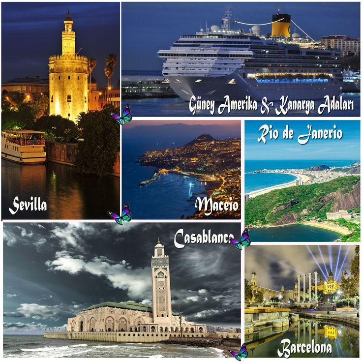 24 Kasım'da 20 Gece 21 Gün Sürecek Güney Amerika & Kanarya Adaları Turu İle Bambaşka Bir Dünyaya Gidiyoruz.   http://www.gemiturlari.com.tr/costa-favolosa-ile-guney-amerika-kanarya-adalari-20-gece-21-gun/