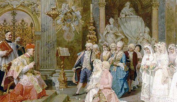 """Le sexe à l'Ancien Régime: """"Embrasser une femme mariée est passible de décapitation"""" - L'Express"""