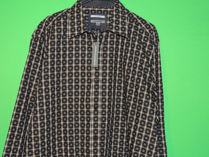 #NWT #Johnston #Geometric #LongSleeve #Mens