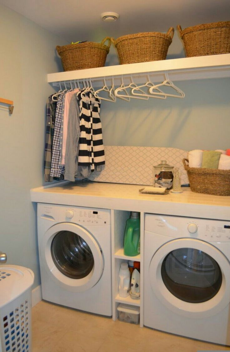 Need the hanging rack in my laundry room
