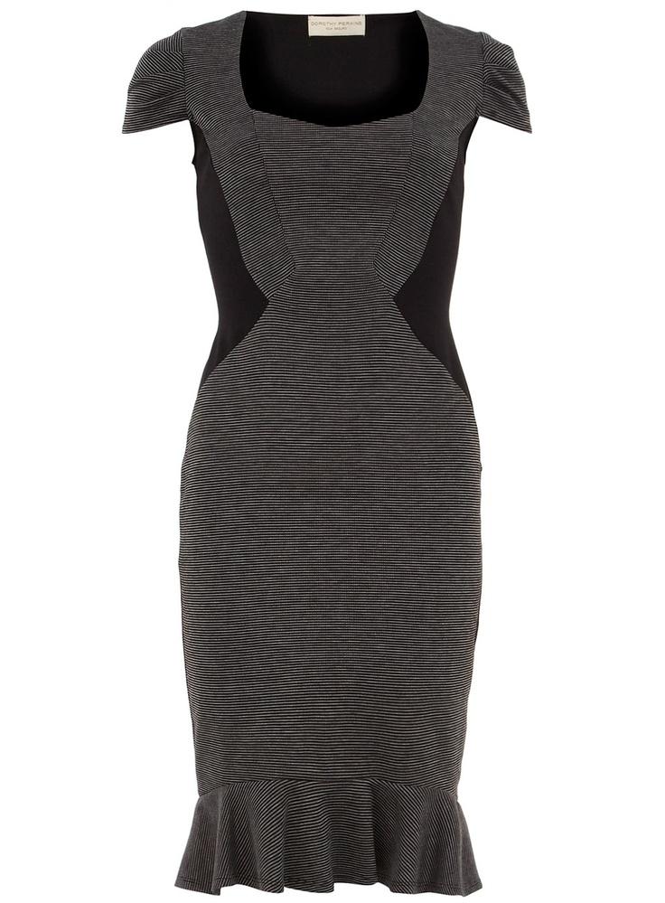 Grey jacquard fishtail dress- New Purchase!: Fishtail Dress