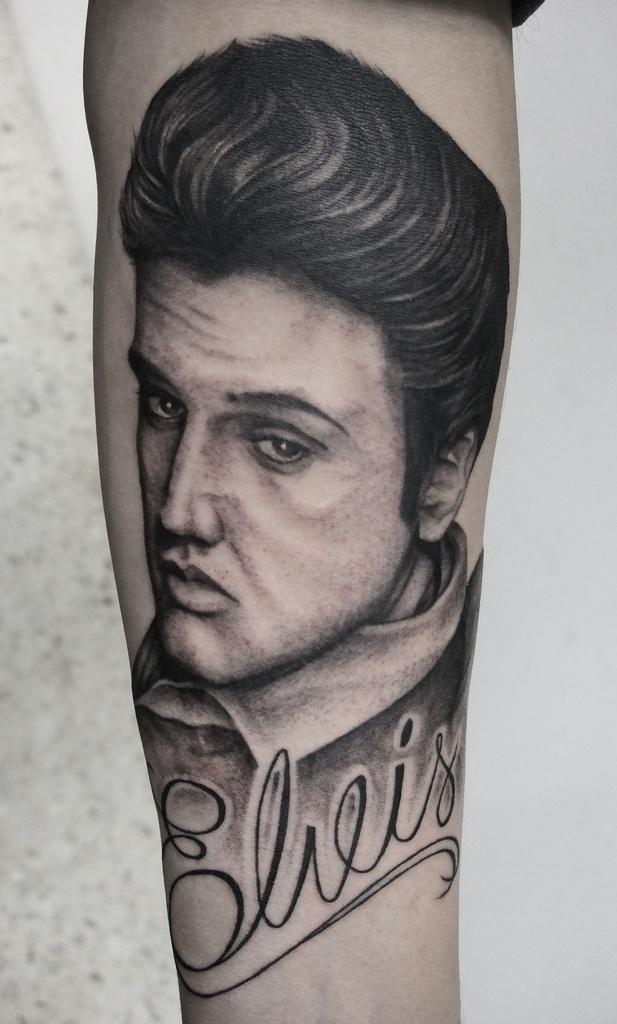 48 best ideas about tattoos on pinterest deer joy for Elvis presley tattoos
