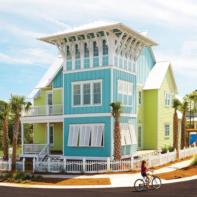 106 best images about florida cottage on pinterest - Coastal home exterior color schemes ...
