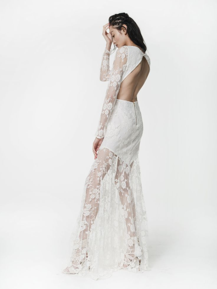 Houghton NYC Bride Wilkinson Gown Available In London