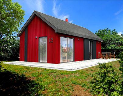 "Check out new work on my @Behance portfolio: ""K2MODUL/nordic style house by damijan koprivc"" http://be.net/gallery/47816859/K2MODULnordic-style-house-by-damijan-koprivc"